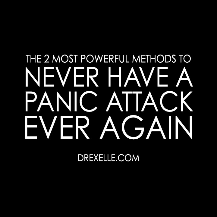 how to not have a panic attack