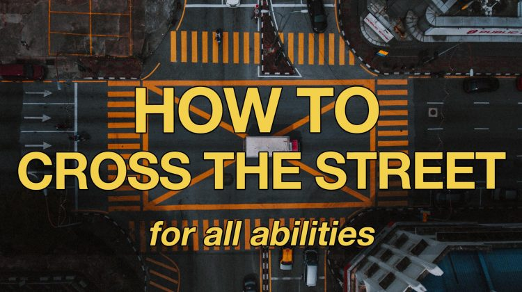 how to teach a child to cross the street